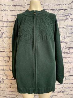 f4fe26c8 Green White Striped Long Sleeve Cotton/Modal Shirt Top Women's Plus Size New