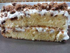 Αφράτο Κέικ βανίλιας με μπισκότα !!! Greek Desserts, Greek Recipes, Tiramisu, Cupcake Cakes, Biscuits, Cheesecake, Lemon, Dessert Recipes, Food And Drink