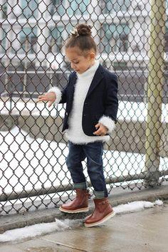 kid retro-cool look