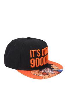 Dragon Ball Z It's Over 9000 Snapback Hat,
