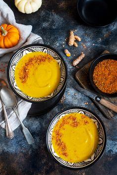 soupe à la courge butternut, patate douce et lentille Fondue, Chili, Cheese, Fruit, Ethnic Recipes, Desserts, Note, Kitchen, Instagram