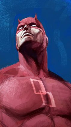 Daredevil by Elia Bonetti Daredevil Matt Murdock, Daredevil Elektra, Daredevil Artwork, Marvel Art, Marvel Heroes, Marvel Comics, Marvel Wallpaper, Naruto Wallpaper, Marvel Comic Character