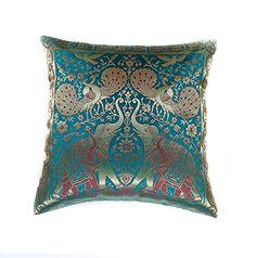 eyes of india 16 pink dekorative bestickt sofa kissen. Black Bedroom Furniture Sets. Home Design Ideas