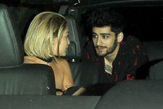 Why Are Zayn Malik And Gigi Hadid In A Car Together?