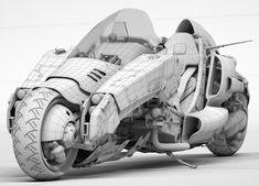 Futuristic Motorcycle, Futuristic Cars, Motorcycle Bike, Bike Design, Prop Design, Kaneda Bike, Concept Motorcycles, Car Design Sketch, Unique Cars