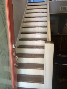 Post with 124 votes and 53490 views. Tagged with The More You Know; Shared by How to make a skirt board for preexisting stairs. Stairs Skirting, Stairs Trim, Stairs Balusters, Redo Stairs, Stairway Wainscoting, Stair Renovation, Baseboard Styles, Staircase Design, Staircase Diy