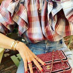 The Denim front Yolk Trend. Mother Denim, Street Style, Popular, Blazer, Legs, Glow, How To Wear, Jackets, Instagram