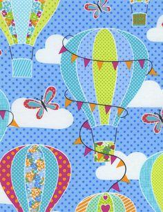» Hot Air Balloons Timeless Treasures