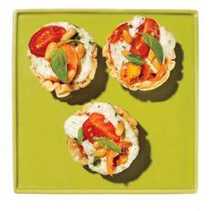 20-Minute Recipe: Cheesy Tomato Basil Tarlets