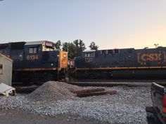 CSX Engines #3171 and #6134, Kingsport TN 9/21/14