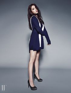 More of Park Shin Hye For W Korea's September 2014 Issue