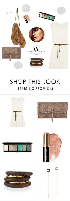 """sunday morning"" by gabrielleleroy ❤ liked on Polyvore featuring Zimmermann, Heidi Klein, MAC Cosmetics, Bobbi Brown Cosmetics, NEST Jewelry, Lana, Balmain, Summer, natural and whitedress"