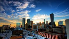 There's a surprisingly potent cultural thread weaving its way through Houston, Texas, a city of sprawling freeways and more mansions than you can imagine in an urban setting. Houston Skyline, Seattle Skyline, Beautiful World, Beautiful Places, Wonderful Places, Texas Tourism, Great Place To Work, H Town, Skate Park