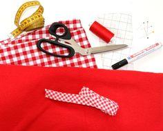 Maak je eigen Roodkapje cape - MOODKIDS   Moodkids