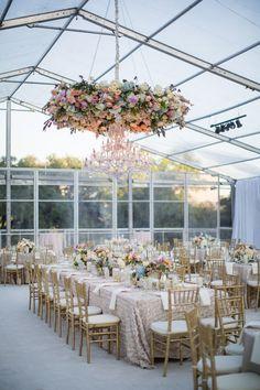 chandelier with floral