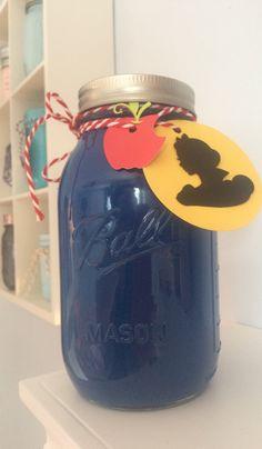 princess mason jar bank, princess bank, snow white bank, cinderella bank, ariel bank, mason jar bank, disney bank, disney princess bank by Robinesnestcreations on Etsy