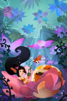 The Art Of Animation, Julia Blattman - AKA: AquaJ