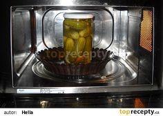 Zavařování v mikrovlnce recept - TopRecepty.cz W 6, Pickles, Cucumber, Microwave, Household, Kitchen Appliances, Good Things, Homemade, Canning