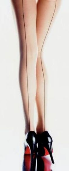 Killer high heels and long legs