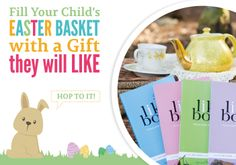 Best Easter Basket gift for your kiddo. Start a fun and meaningful tradition this Easter! Enjoy 40% off right now with code: BUNNY40. Click through to website