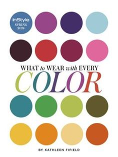 InStyle magazine Color Guide