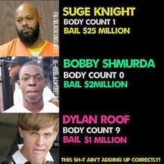 WTH is wrong with this picture? Justice is being served right? I don't get what ALL the fuss is about with racism! smh!
