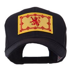 Europe Flag Embroidered Patch Cap - Scotland