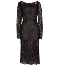 DOLCE & GABBANA Lace Dress. #dolcegabbana #cloth #dresses