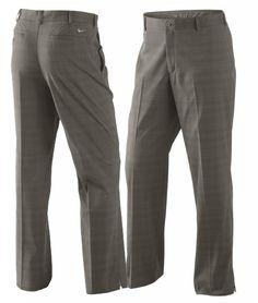 Nike Men's Dri-FIT Plaid Men's Golf Pants-$80.00 | eBay