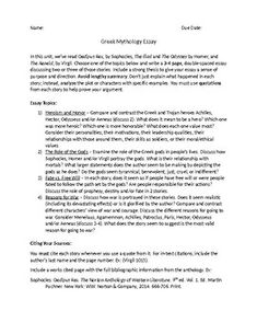 profile essay assignment gatsby worksheets and students greek and r mythology essay
