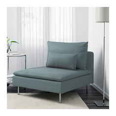 SÖDERHAMN One-seat section - Finnsta turquoise - IKEA