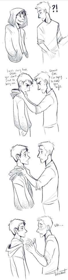just another comic of my boys being so oblivious and cute together ^-^