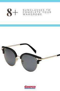 0024459c61 Complete your summer wardrobe with a new pair of sunglasses from Costco!  Cute Sunglasses