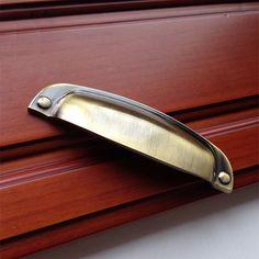 Dresser Pulls Handles Drawer Pulls Cup Handles Knobs Rustic Antique Bronze Retro…