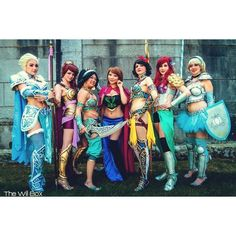 Disney Princess Battle Armor Cosplay GeekTyrant ❤ liked on Polyvore featuring costumes, disney halloween costumes, role play costumes, cosplay costumes, animal halloween costumes and disney