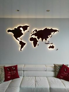 """Visit our site for more info on """"metal tree wall art"""".- Visit our site for more info on """"metal tree wall art"""". It is an excellent locati… Visit our site for more info on """"metal tree wall art"""". It is an excellent location to learn more. World Map Wall Decor, Wall Maps, World Map Art, World Map Bedroom, World Map Design, Tree Wall Decor, Metal Tree Wall Art, Colorful Wall Art, Mural Wall Art"""