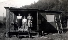 The North Family in Glen Rogers, WV. A poor life in those days.
