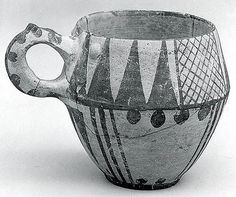 One-handled cup  Period: Iron Age II Date: ca. 1000–900 B.C. Geography: Iran…