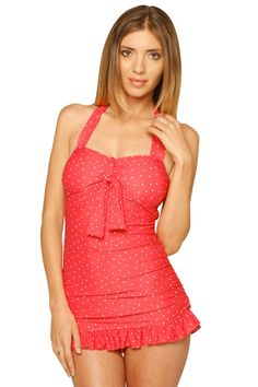 7e6193dba63 ADORABLE suit! Soooo fun and modest!! Modest Swimsuits, Vintage Swimsuits,  Cute
