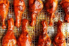 Oven-Roasted Buffalo Drumsticks - The Candid Appetite