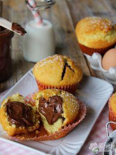 Muffin alla nutella golosi