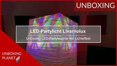 Unboxing einer LED-Partyleuchte mit Lichteffekte #unboxing #ledpartyleuchte #lichteffekte #unboxingplanet Video News, Led