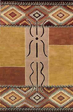 modernrugs.com Modern Kilim Woven Classic Ranch Rug