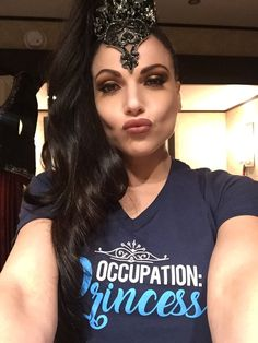 The Evil Queen supports great causes! Join her w/ KarenDavid & her #OccupationPrincess campaign for alzassociation