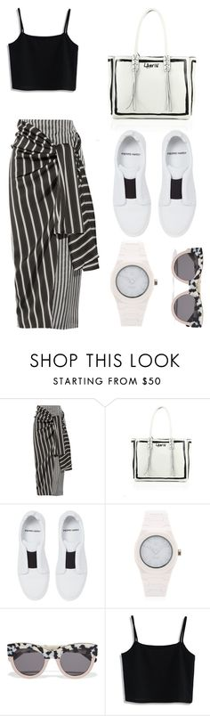 """""""Monochrome"""" by emiliajenner ❤ liked on Polyvore featuring Joseph, Lanvin, Pierre Hardy, d1 Milano, STELLA McCARTNEY and Chicwish"""