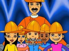 Lovely song to learn some professions. Nice visual aids. Song Sing Its my Job! English for Children - YouTube