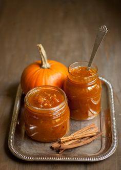 pumpkin jam compota de abóbora