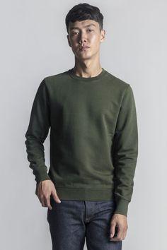 c2286d08a41 The ASKET Sweatshirt  Men s Egyptian Cotton Loopback Sweatshirt