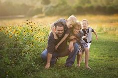 Loved taking my husband and boys out for a sunset session for Father's Day! I am so blessed! Sunny Skaggs Photography