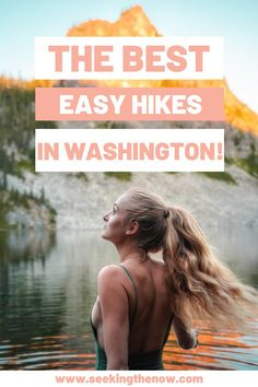 WOW! I cannot believe I did not know about these- these are the best day hikes in Washington I have found yet!! Cannot wait to head out on these easy hikes in Washington! Hiking Quotes, Travel Quotes, Adventure Photography, Travel Photography, Adventure Aesthetic, Wanderlust, Adventure Travel, Adventure Quotes, Washington